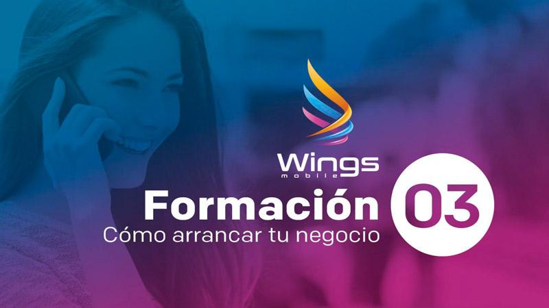 """WINGS MOBILE – Formación """"Cómo arrancar tu negocio"""" 30/11"""
