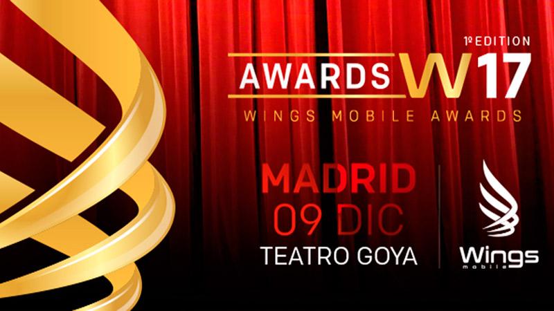 WINGS MOBILE AWARDS – MADRID 2017