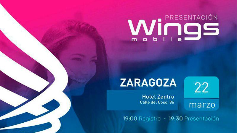 WINGS MOBILE – Presentación en Zaragoza